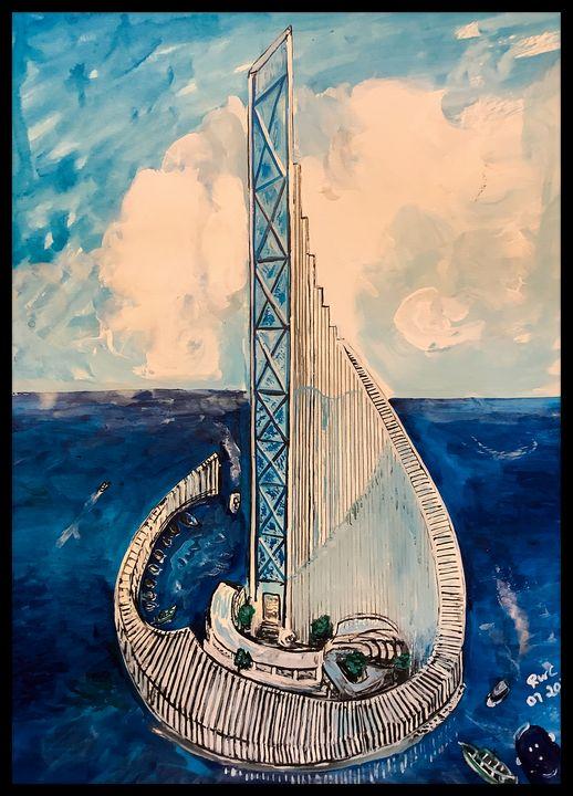Sea Living - Roberts Art
