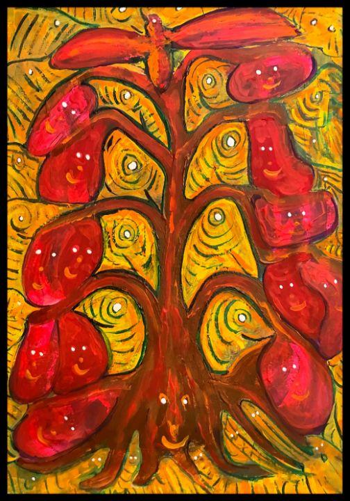 Happy Tree - Roberts Art