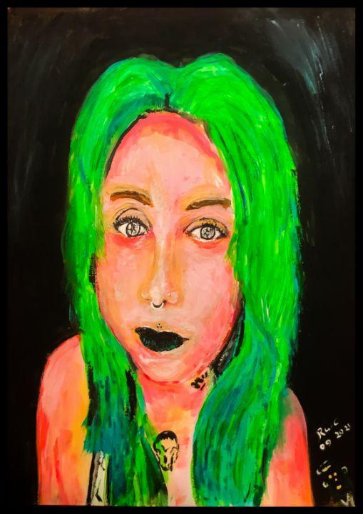 Rick's beautiful daughter - Roberts Art