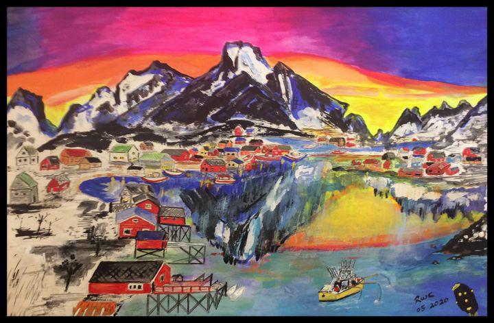 Northern Village - Roberts Art