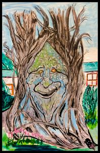 One happy Tree - Roberts Art