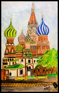 Russian Temple - Roberts Art