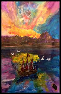 Anchored in the Bay - Roberts Art