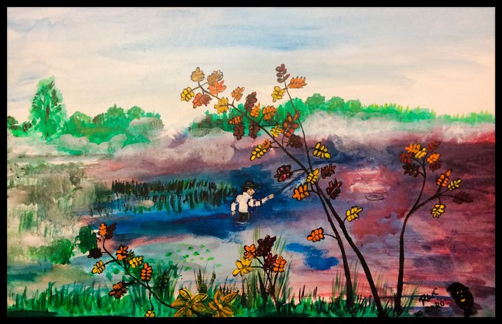 Afternoon Fishing - Roberts Art