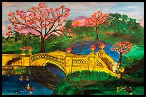 Enjoying the park - Roberts Art