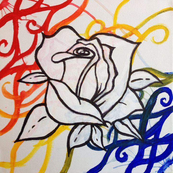 White Rose - Sara Nahass