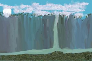 MOUNTAIN WATRFALL