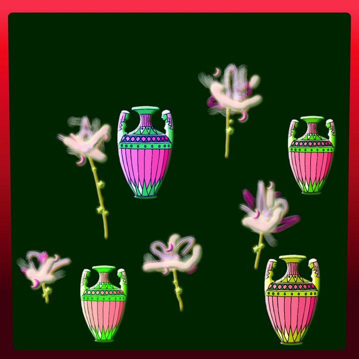 4 Vases & 5 Flowers - Cody Kremer Molina