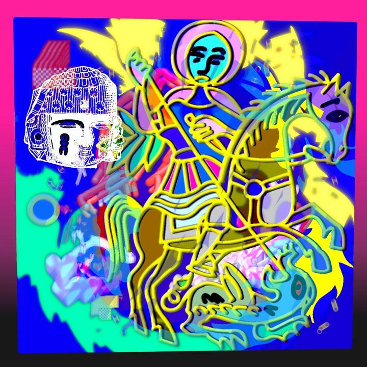 Centeotl & Saint George & A Dragon - Cody Kremer Molina