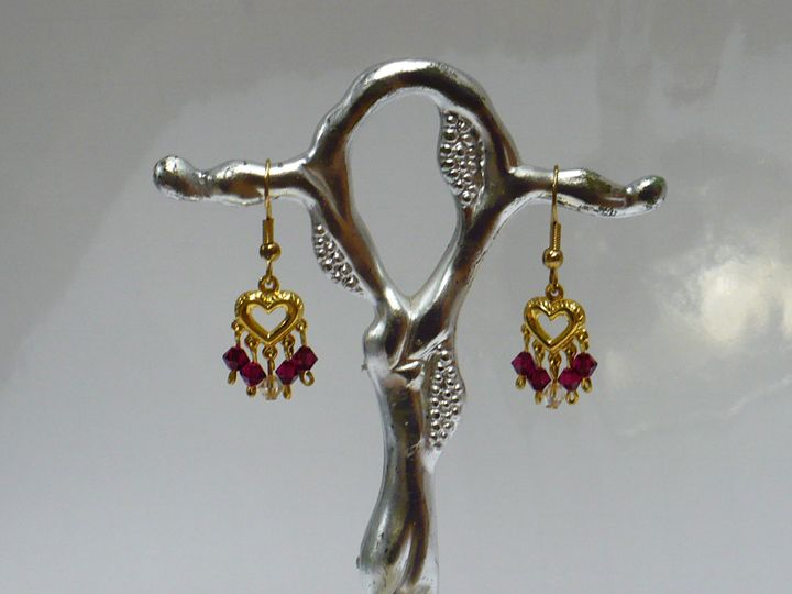Tiny Dangling Earrings - Ostara Scarlett Designs