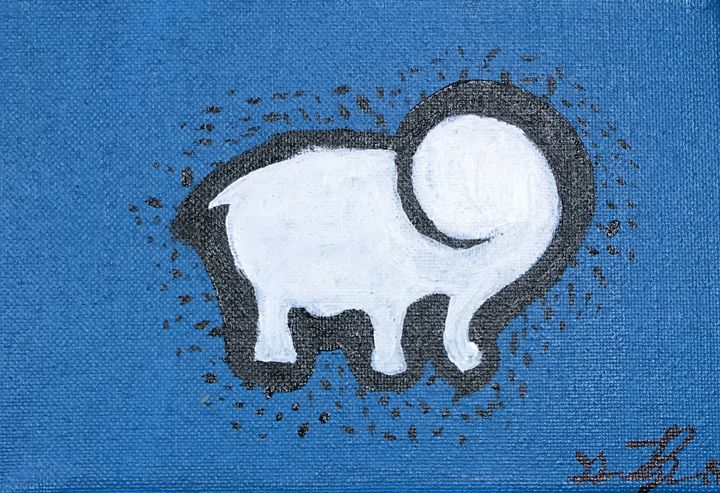 Adorable Elephant - Paintings