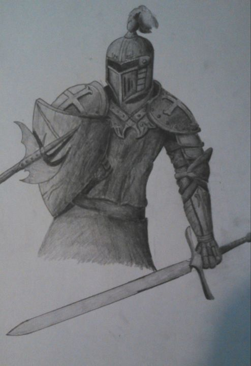 Training Knight - ProtoSketch