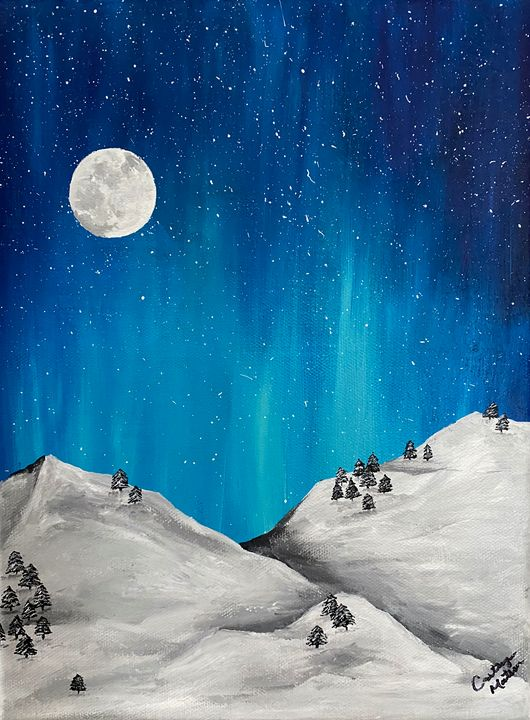 Winter Slopes - Cait's Creations