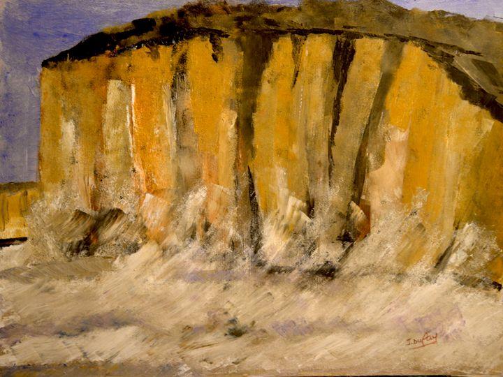 La falaise prise d'assaut - Jerôme Dufay