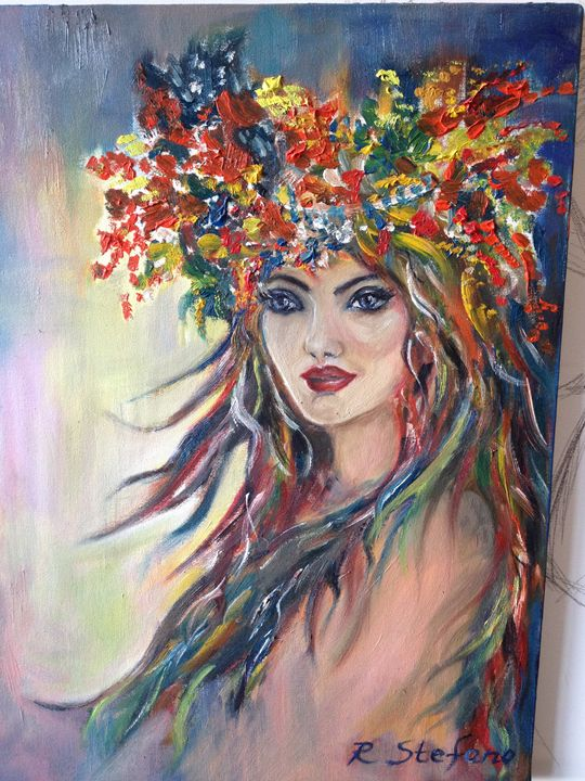 The Flower girl - Radostina Stefano