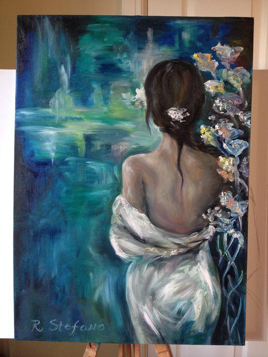 Woman in White - Radostina Stefano