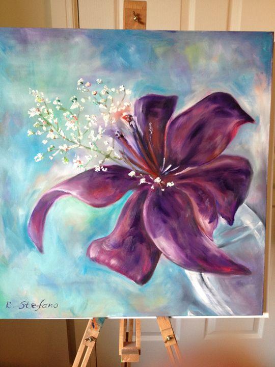 Catalia Flower Radostina Stefano Paintings Amp Prints
