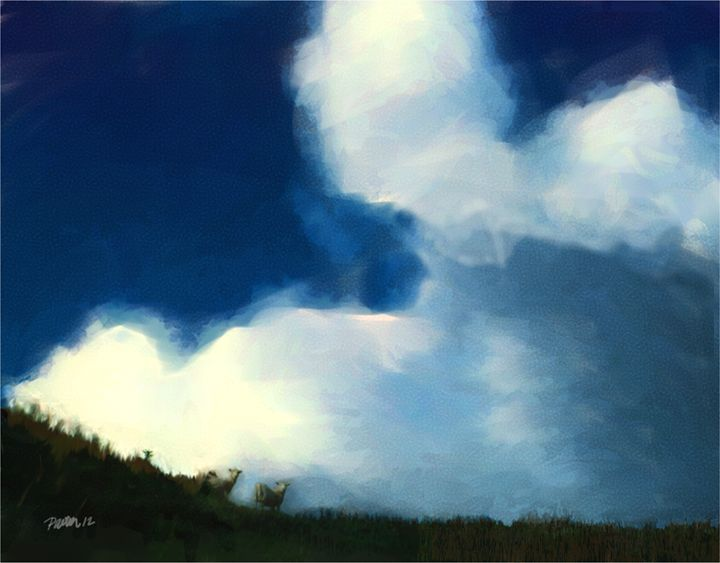 Wooly Clouds - Pavelle Fine Art