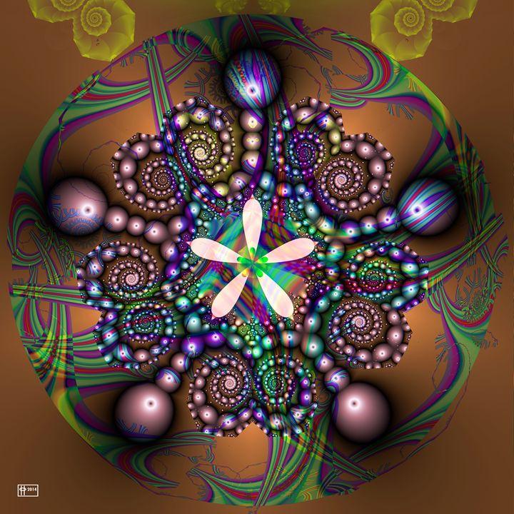 Pinball Daisy - Pavelle Fine Art