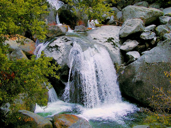 Big Boulder Falls - Yosemite NP - Pavelle Fine Art