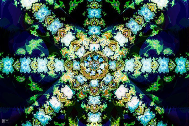 Flower Star Lei - Pavelle Fine Art