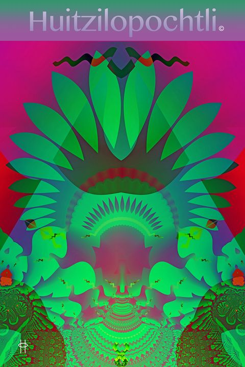 Huitzilopochtli - Pavelle Fine Art