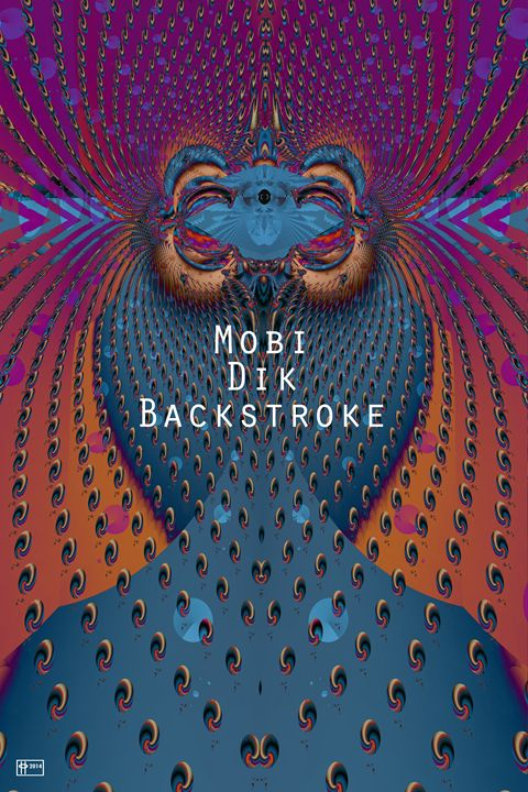 Mobi Dik Backstroke - Pavelle Fine Art