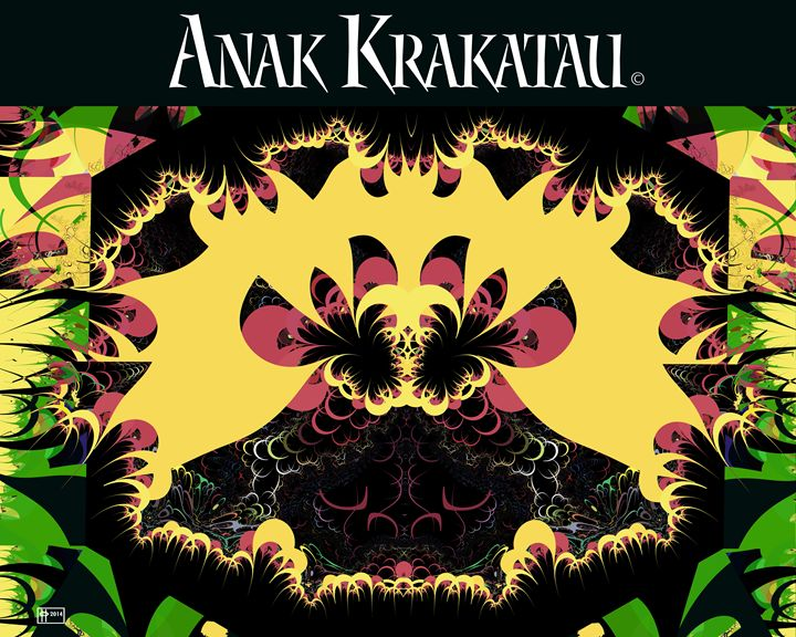 Anak Krakatau (Child of Krakatoa) - Pavelle Fine Art