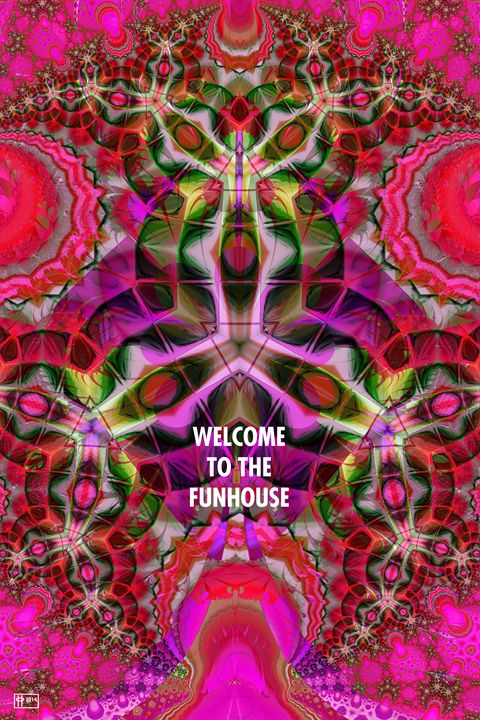 Welcome to the Funhouse - Pavelle Fine Art