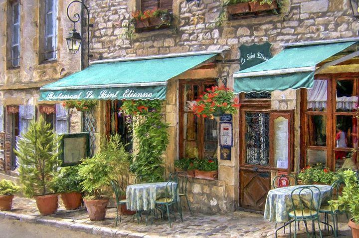 French restaurant - Wall Art