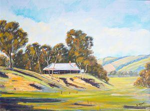Old Farm Wee Jasper Road - stuart grant