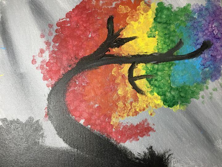 Rainbow tree - AmandaDepablos