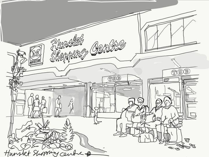 hunslet shopping centre - Markartistic