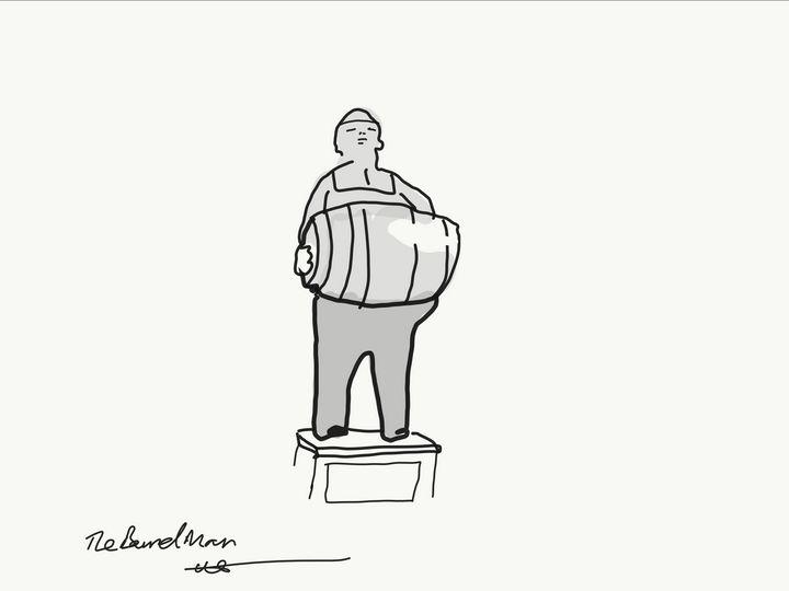 the barrel man - Markartistic