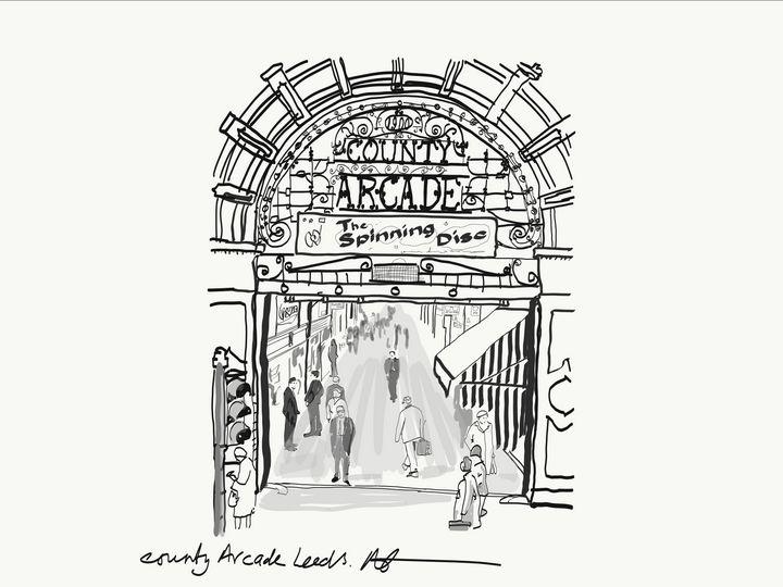 county arcade leeds - Markartistic