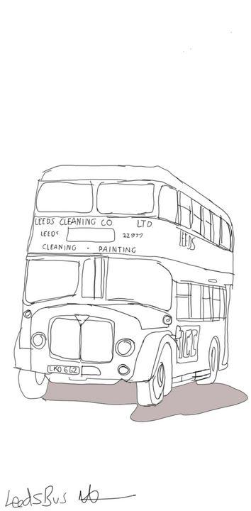 Leeds bus - Markartistic