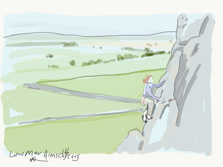 Low man almscliffe crag - Markartistic