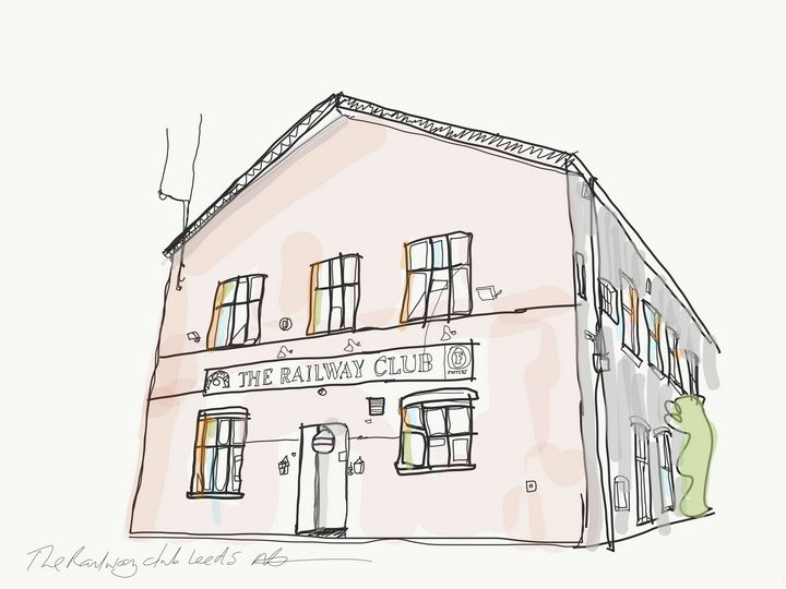 the railway club leeds - Markartistic