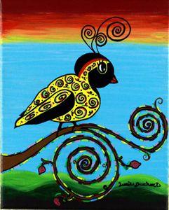 Curly Bird