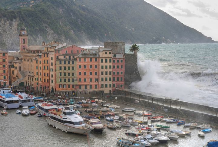 Sea storm in Camogli - Antonio-S