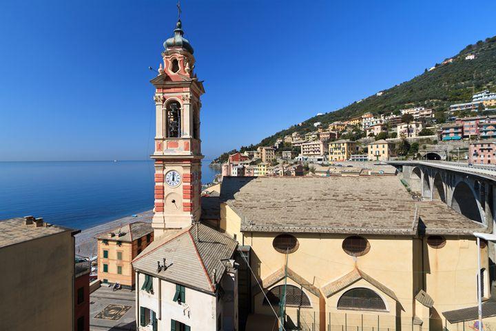 church in Sori, Italy - Antonio-S
