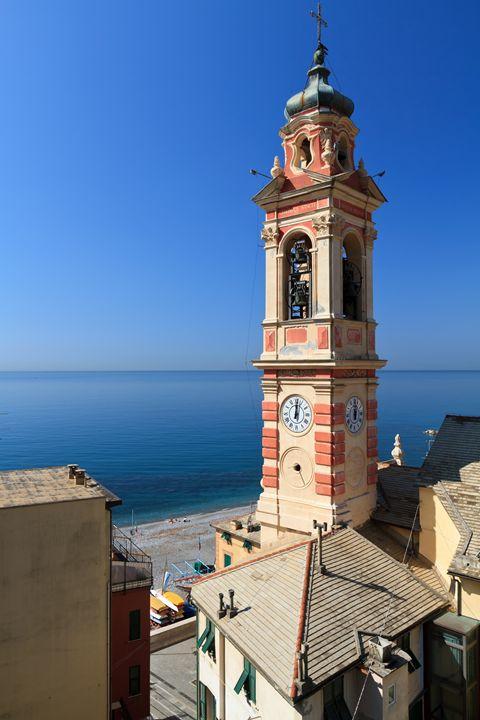 bell tower in Sori, italy - Antonio-S