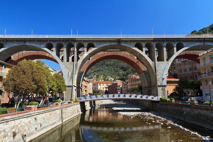 bridges in Sori, Italy - Antonio-S