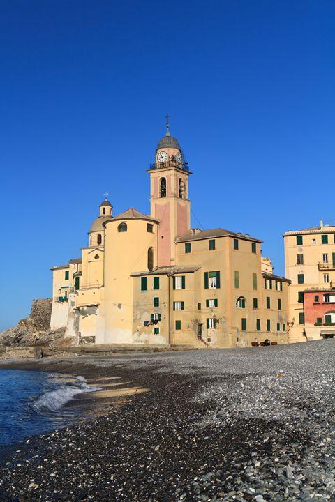 Camogli, seaside and church - Antonio-S