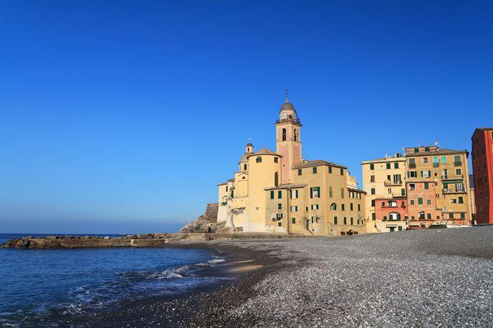 beach and church in Camogli - Antonio-S