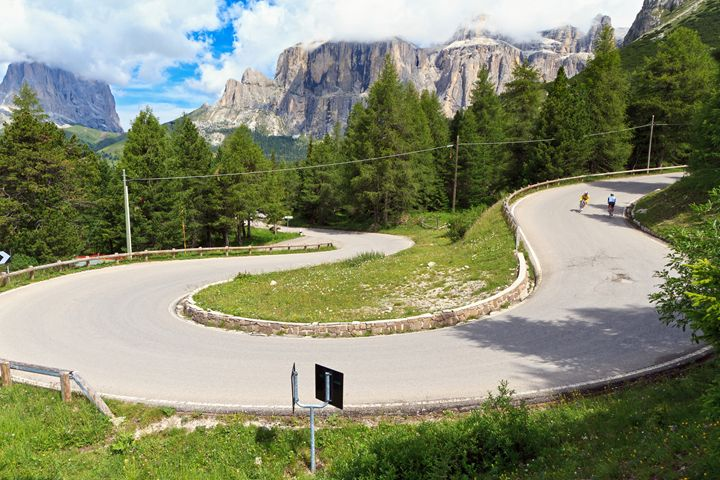 winding road on Dolomites - Antonio-S
