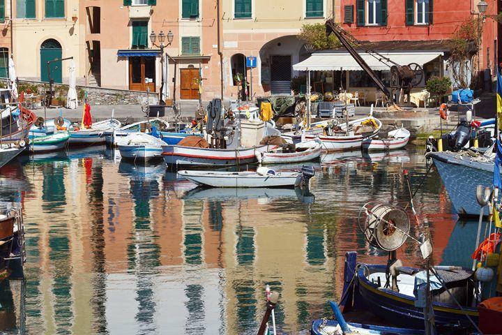 fishing boats in Camogli - Antonio-S