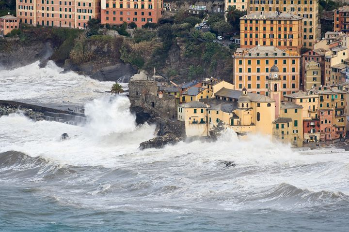 Sea storm in Camogli - Antonio-S