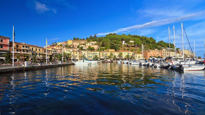 promenade and marina in Porto Azzurr - Antonio-S