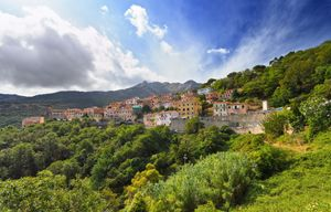Elba - Marciana village